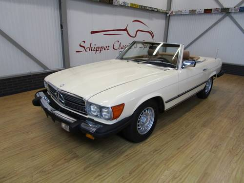 1984 Mercedes 380SL For Sale (picture 1 of 6)
