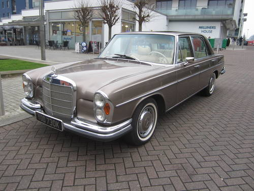 1971 Mercedes 300SEL 6.3 LHD For Sale (picture 2 of 6)