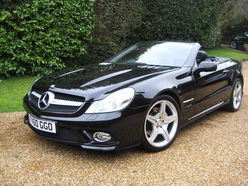 2010 Mercedes Benz SL350 AMG Sports With Pan Roof+AMG Bodystyling For Sale (picture 1 of 6)