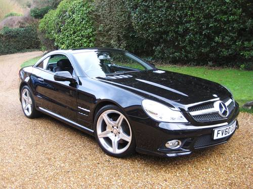2010 Mercedes Benz SL350 AMG Sports With Pan Roof+AMG Bodystyling For Sale (picture 2 of 6)