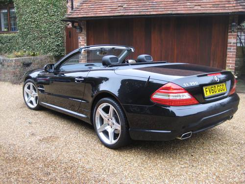 2010 Mercedes Benz SL350 AMG Sports With Pan Roof+AMG Bodystyling For Sale (picture 5 of 6)