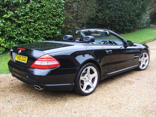2010 Mercedes Benz SL350 AMG Sports With Pan Roof+AMG Bodystyling For Sale (picture 6 of 6)