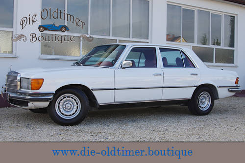 1979 Mercedes-Benz 350 SE - W 116 - completely restored - LHD SOLD (picture 1 of 6)