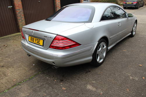2004 Mercedes CL500 with full AMG Pack facelift model 150+ Pics For Sale (picture 2 of 6)