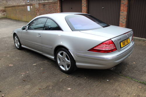 2004 Mercedes CL500 with full AMG Pack facelift model 150+ Pics For Sale (picture 3 of 6)