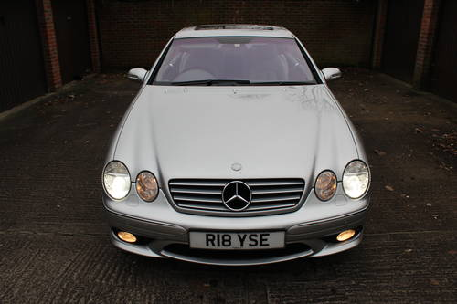 2004 Mercedes CL500 with full AMG Pack facelift model 150+ Pics For Sale (picture 5 of 6)