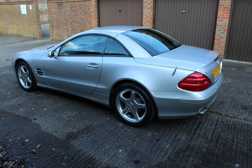 2002 Stunning SL500 with AMG alloys 89k FSH - 200+ pics online For Sale (picture 3 of 6)