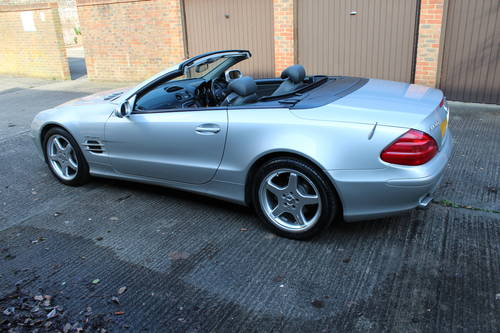 2002 Stunning SL500 with AMG alloys 89k FSH - 200+ pics online For Sale (picture 6 of 6)