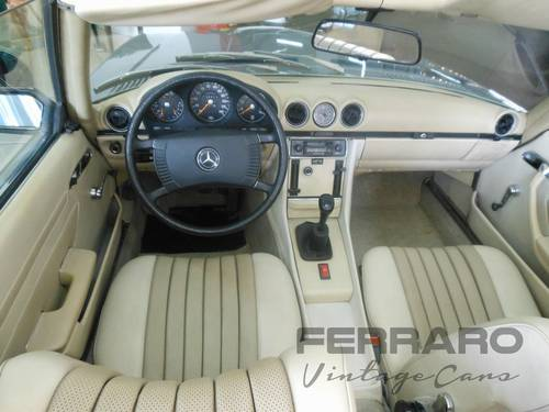 1971 Mercedes 350SL R107 SOLD (picture 5 of 6)