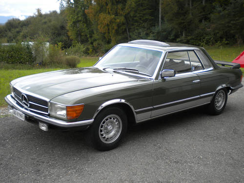 1977 Mercedes 280 SLC for sale For Sale (picture 1 of 5)