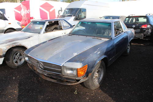 1978 2 x Mercedes SL unfinished resto - 1 x auto and 1 x manual  For Sale (picture 3 of 6)