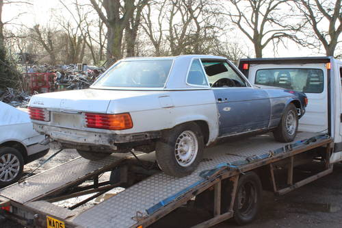 1978 2 x Mercedes SL unfinished resto - 1 x auto and 1 x manual  For Sale (picture 6 of 6)