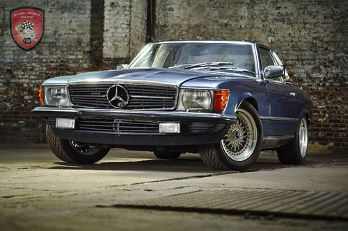 1982 Mercedes Benz 500 SL  SOLD (picture 1 of 6)