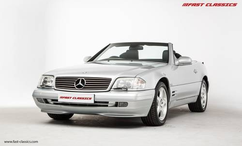 2000 Mercedes SL320 // Just 28k miles SOLD (picture 2 of 6)