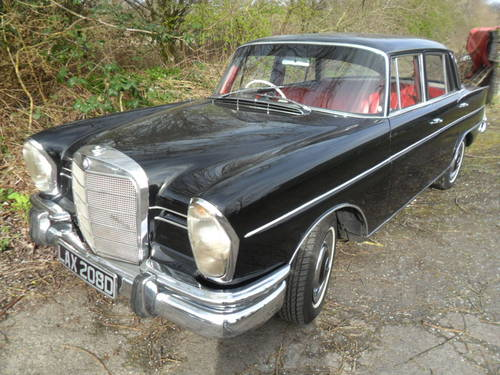MERCEDES 230s 1966 For Sale (picture 1 of 6)