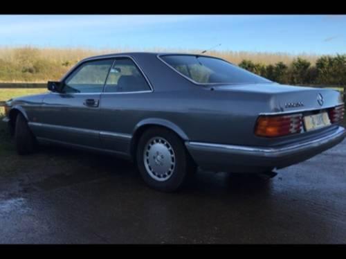 1987 Mercedes 560 SEC FULL M-B HISTORY 1 PREVIOUS OWNER SOLD | Car