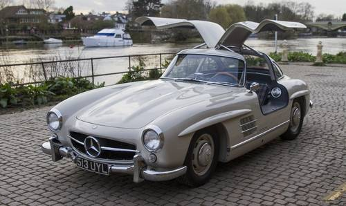 1955 Mercedes-Benz 300 SL Gullwing For Sale (picture 1 of 6)