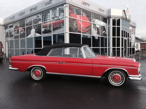 1966 Excellent Mercedes 300 SE Conv manual gearbox For Sale (picture 2 of 6)