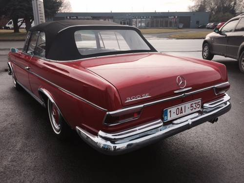 1966 Excellent Mercedes 300 SE Conv manual gearbox For Sale (picture 3 of 6)