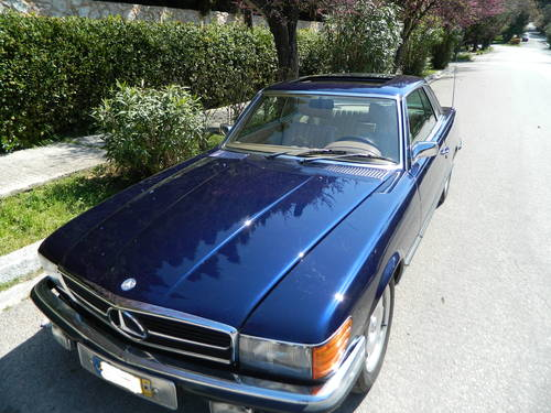 1975 Mercedes 280SLC Auto/ Air Con For Sale (picture 1 of 6)