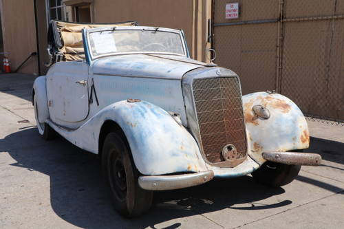 1938 Mercedes-Benz 170V Cab A For Sale (picture 1 of 5)