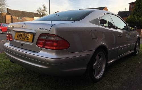 1999 Mercedes CLK CoupeAuto 3.2 AMG Line Edition 76K FSH Stunning For Sale (picture 4 of 6)