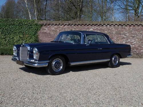 1969 Mercedes Benz 280SE Coupe For Sale (picture 1 of 6)