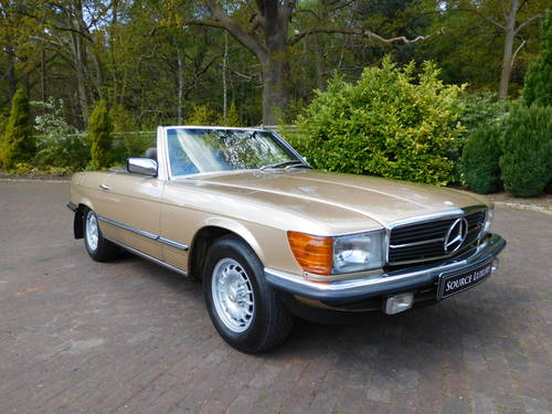 1983/Y Mercedes-Benz 380SL R107 only 24k miles, two owners For Sale (picture 1 of 6)