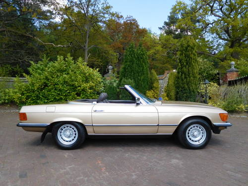 1983/Y Mercedes-Benz 380SL R107 only 24k miles, two owners For Sale (picture 2 of 6)