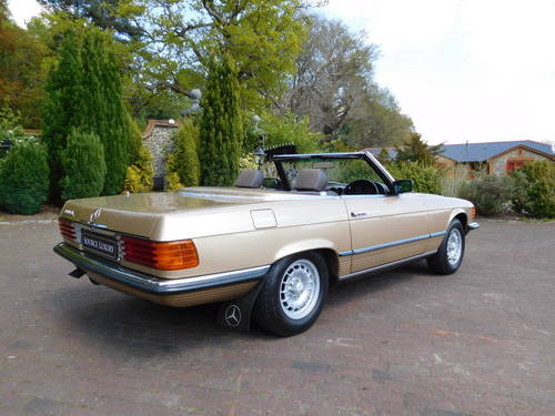 1983/Y Mercedes-Benz 380SL R107 only 24k miles, two owners For Sale (picture 3 of 6)