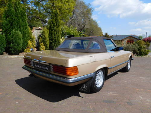1983/Y Mercedes-Benz 380SL R107 only 24k miles, two owners For Sale (picture 4 of 6)