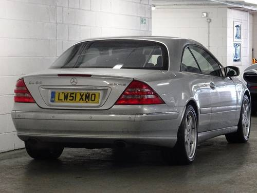 2001 Mercedes-Benz CL55 AMG 5.5 V8 Coupe Auto 2dr HUGE SPEC For Sale (picture 3 of 6)