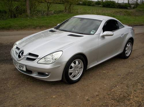 2008 MERCEDES 200 SLK AUTO 24170 MILES WITH 7 SERVICES SOLD (picture 2 of 6)