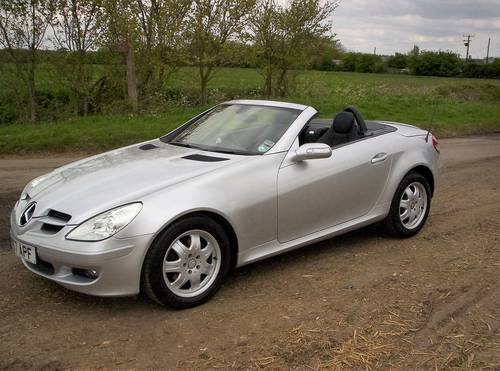 2008 MERCEDES 200 SLK AUTO 24170 MILES WITH 7 SERVICES SOLD (picture 3 of 6)
