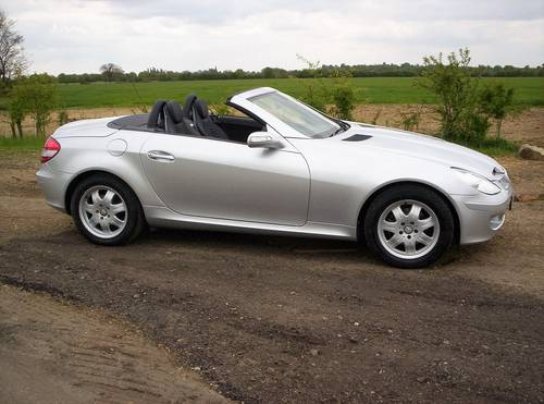 2008 MERCEDES 200 SLK AUTO 24170 MILES WITH 7 SERVICES SOLD (picture 4 of 6)