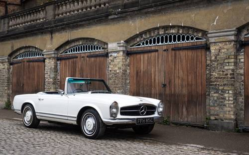 1965 Mercedes Benz 230SL Pagoda RHD UK Car W113 SOLD (picture 1 of 6)