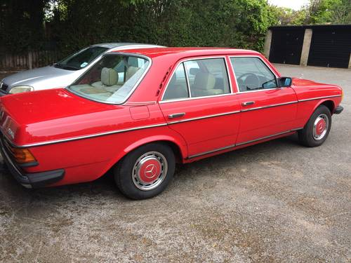 1980 Mercedes Benz 300d Auto 61k W123 For Sale (picture 2 of 2)