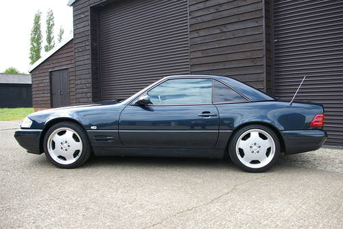 1999 R129 Mecedes-Benz SL320 Convertible Auto (17,673 miles) SOLD (picture 1 of 6)