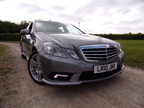 2010 Mercedes -Benz E350 3.0 CDi Auto Sport For Sale (picture 1 of 6)