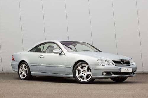 2004 MERCEDES-BENZ CL500-32339 Miles Only SOLD (picture 1 of 6)