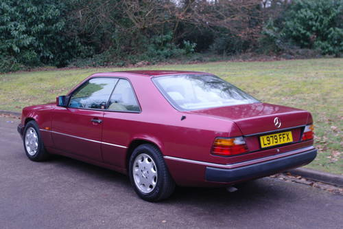 MERCEDES 220 CE AUTO..W124 COUPE..LOW MILES..FSH SOLD (picture 6 of 6)