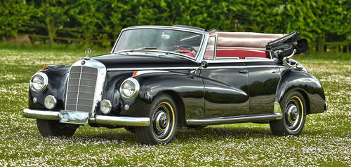 1953 Mercedes Benz Adenauer 4 door Convertible For Sale (picture 1 of 6)