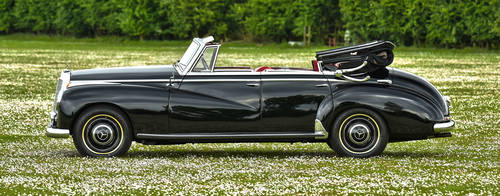 1953 Mercedes Benz Adenauer 4 door Convertible For Sale (picture 3 of 6)