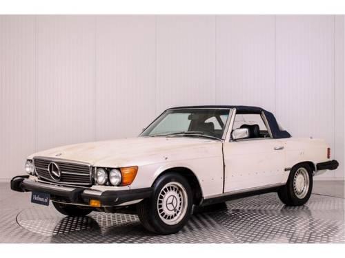 1982 Mercedes-Benz SL-Klasse 380 SL Roadster For Sale (picture 1 of 6)