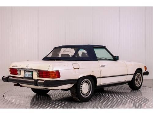 1982 Mercedes-Benz SL-Klasse 380 SL Roadster For Sale (picture 2 of 6)