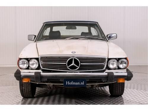 1982 Mercedes-Benz SL-Klasse 380 SL Roadster For Sale (picture 3 of 6)