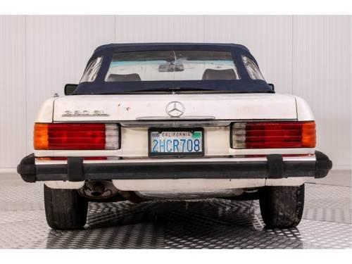 1982 Mercedes-Benz SL-Klasse 380 SL Roadster For Sale (picture 4 of 6)