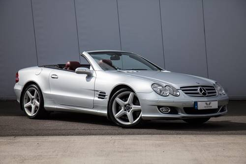 2006 Mercedes-Benz SL500 SOLD (picture 1 of 6)