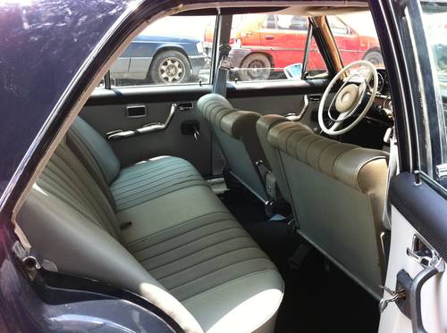 1967 Mercedes 250SE in excellent condition SOLD (picture 4 of 5)