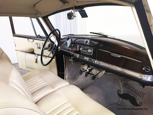 1954 TOP CONDITIONS MERCEDES 300 ADENAUER For Sale (picture 5 of 6)